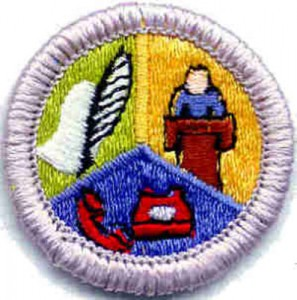 Communications Merit Badge 1 of 2 @ Prairie Star Middle School | Leawood | Kansas | United States