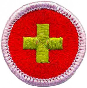 First Aid Merit Badge 1 of 3 @ Prairie Star Middle School | Leawood | Kansas | United States