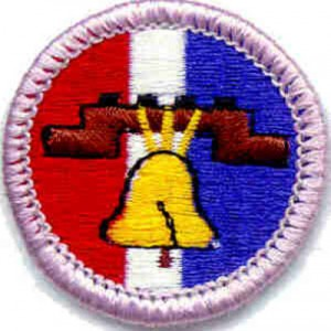 Citizenship in the Nation Merit Badge 1 of 2 @ Prairie Star Middle School | Leawood | Kansas | United States